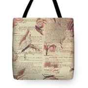Book Bugs Tote Bag