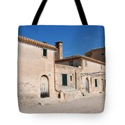 Boquer Valley Building In Majorca Tote Bag