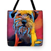 Border Terrier Tote Bag