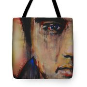 Born Standing Up Tote Bag by Eric Dee