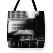 Boston Fort Point Channel Contrast Tote Bag