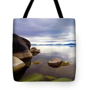 Boulders At Sand Harbor Tote Bag