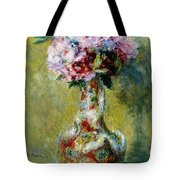 Bouquet In A Vase, 1878 Tote Bag