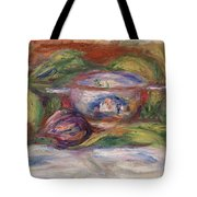Bowl, Figs, And Apples, 1916 Tote Bag