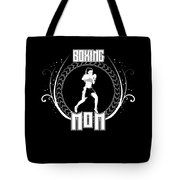 Boxing Mom Combat Sport Martial Arts Training Tote Bag