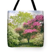 Spring Arrives At Daffodil Hill Tote Bag