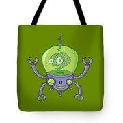 Brainbot Robot With Brain Tote Bag