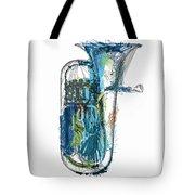 Brass Euphonium 4 Tote Bag