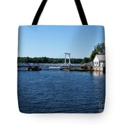 Brass Point Bridge On The Rideau Canal Ontario Tote Bag