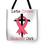 Breast Cancer Awareness Art Christian Women Light Tote Bag