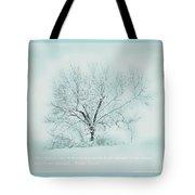 Breath Of Winter Tote Bag