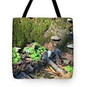 Breeches, Mushrooms And Moss Tote Bag