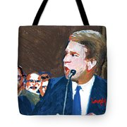Brett Kavanaugh Testifies Before Senate Tote Bag