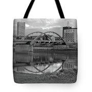 Bridge Of Frankfurt/oder Tote Bag by Silva Wischeropp