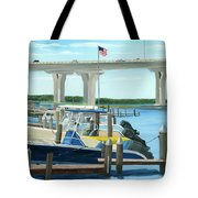 Bridge To Summer II Tote Bag