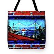 Bridges And Walls  Tote Bag