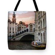 Bridges Of Venice - Rialto Tote Bag