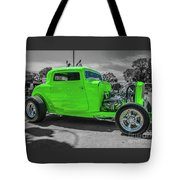 Bright Green Ford Tote Bag