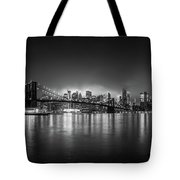 Bright Lights Of New York Tote Bag