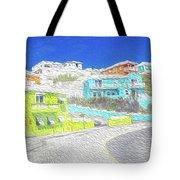 Bright Parish Life Bermuda Tote Bag