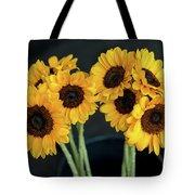 Bright Yellow Sunflowers Tote Bag
