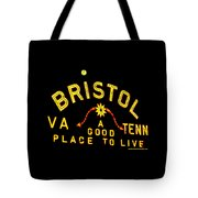 Bristol Sign And The Moon Tote Bag