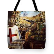 British Crusader Tote Bag