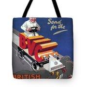 British Vacuum Cleaner Vintage Advert 1910 Tote Bag