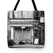 Brooklyn Deli Black White  Tote Bag