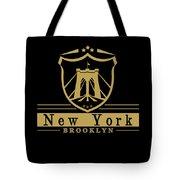 Brooklyn New York Bridge Pride Icon Tote Bag