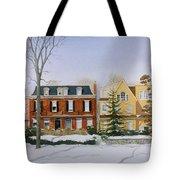Broom Street Snow Tote Bag