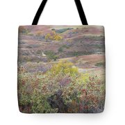 Buffaloberry Prairie Tote Bag