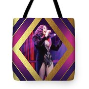 Burlesque Cher Diamond Tote Bag