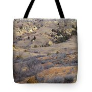 Burning Coal Vein April Reverie Tote Bag
