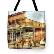 Burros Are Back In Town Tote Bag