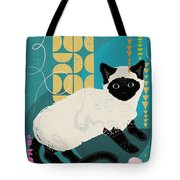 Buster The Shelter Cat Tote Bag