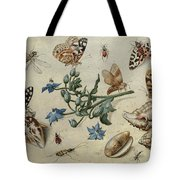 Butterflies, Clams, Insects Tote Bag