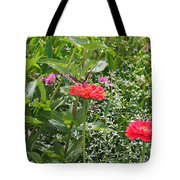 Butterfly Before Flight Tote Bag