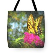 Butterfly Likeness  Tote Bag