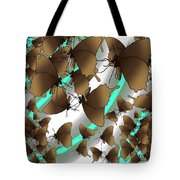 Butterfly Patterns 2 Tote Bag