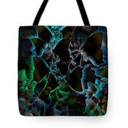 Butterfly Patterns 5 Tote Bag