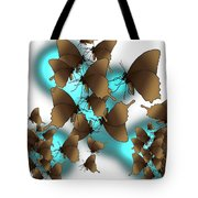Butterfly Patterns 9 Tote Bag