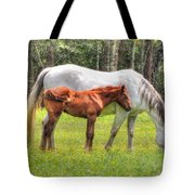 By Mom's Side Tote Bag