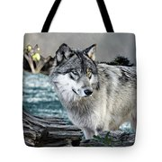 By The River Tote Bag