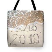 Bye Bye 2018 Welcome2019 Tote Bag