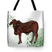 C Is For Cow Tote Bag