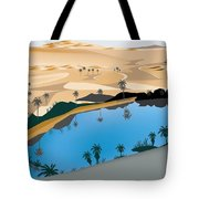caber own Oasis Tote Bag