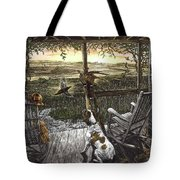 Cabin Fever Tote Bag by Clint Hansen