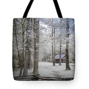 Cabin In The Smoky's II Tote Bag