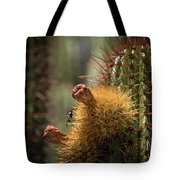 Cactus With Beetle Tote Bag